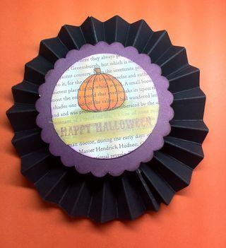 Pumpkin medalion